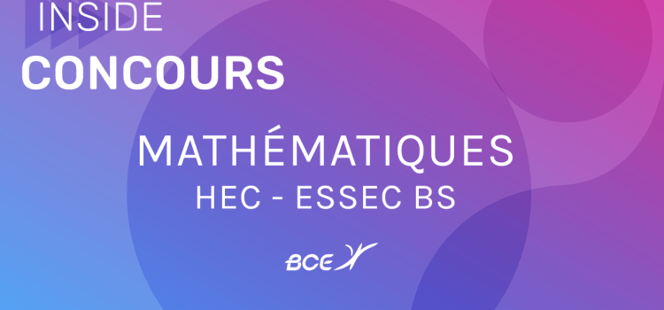 Maths HEC/ESSEC 2021 ECE – Sujet
