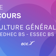 Culture générale EDHEC ESSEC 2019 – Corrigé