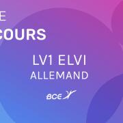 LV1 Allemand ELVi 2019 – Sujet