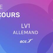 Lv1 Allemand ELVi 2020 – Sujet