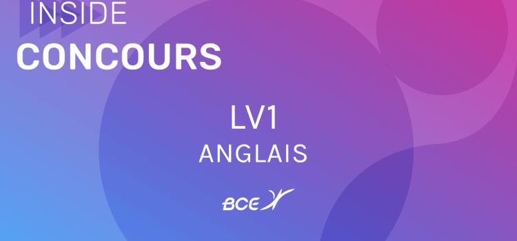 LV1 Anglais ELVi 2019 – Sujet