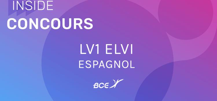 LV1 Espagnol ELVi 2019 – Sujet