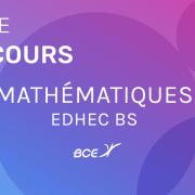 Maths EDHEC 2020 ECE – Sujet