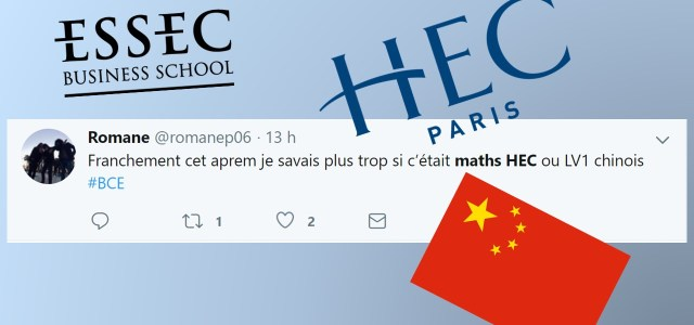 Best-of Twitter Maths HEC ESSEC 2019