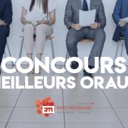 Concours des meilleurs oraux 2019 – EM Strasbourg