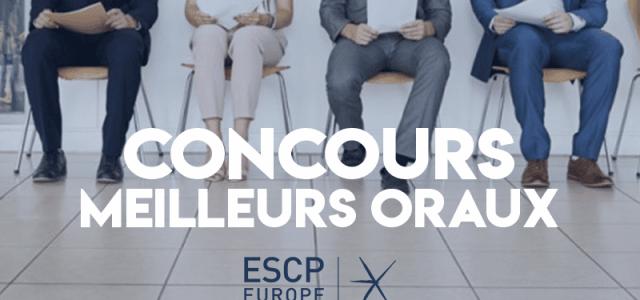 Concours des meilleurs oraux 2019 – ESCP Europe