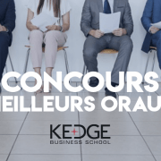 Concours des meilleurs oraux 2019 – KEDGE BS