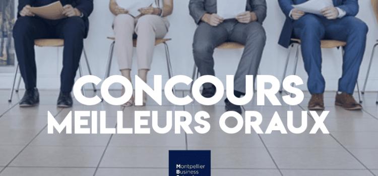Concours des meilleurs oraux 2019 – Montpellier BS