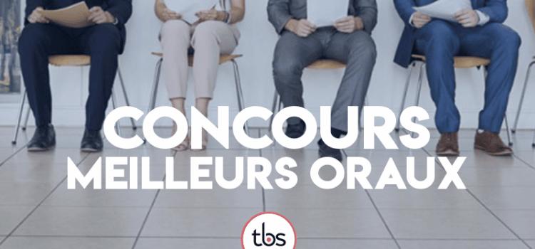 Concours des meilleurs oraux 2019 – TBS