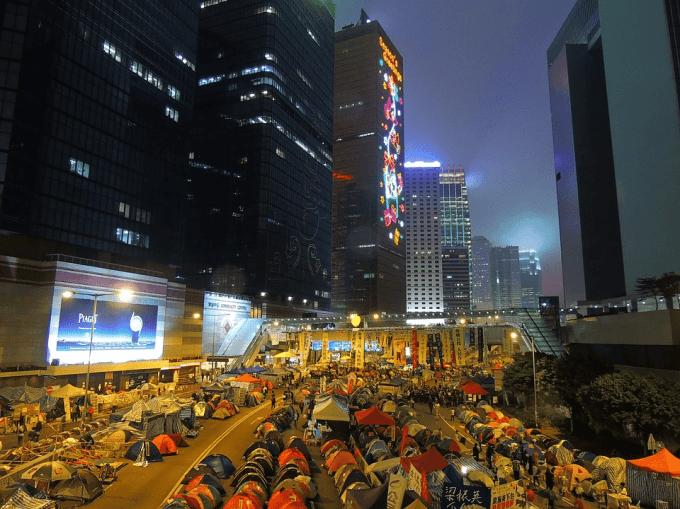 La ... veillée annuelle en mémoire de la répression de Tiananmen a été annulée.