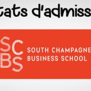 Résultats d'admissibilités SCBS 2019