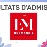 Résultats d'admission EM Normandie 2019