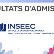 Résultats d'admission INSEEC SBE 2020