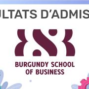 Résultats d'admission BSB 2020