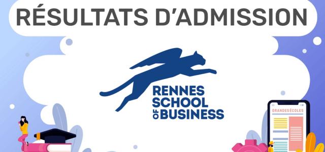 Résultats d'admission Rennes SB 2020