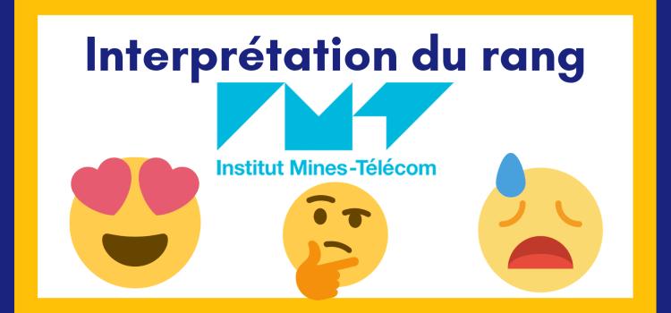 Interpréter son rang IMT-BS 2021