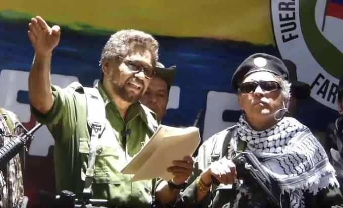 Qu'a déclaré Ivan Marquez, numéro deux des FARC, le 29 août dernier ?