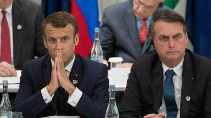 Quel accord de libre-échange conclu en juin a perdu cet été le soutien du président français ?
