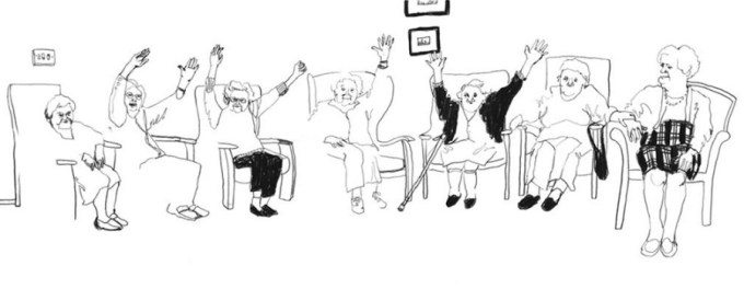 Traduisez : Des inquiétudes financières touchent la plupart des personnes âgées, dont plusieurs sont des vétérans que la vie n'a pas épargnés.