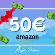Major-Prépa t'offre 50 euros à dépenser sur Amazon !