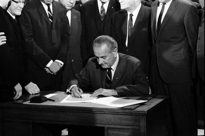 Quel événement marque la fin du Civil Rights Movement en général ?