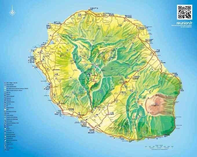 sociologie de la Réunion carte