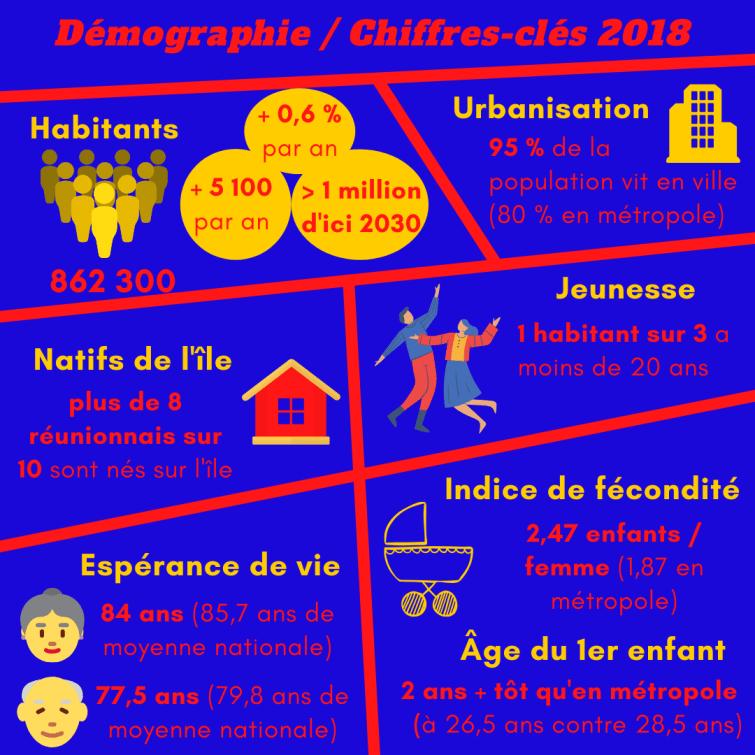démographie sociologie la réunion