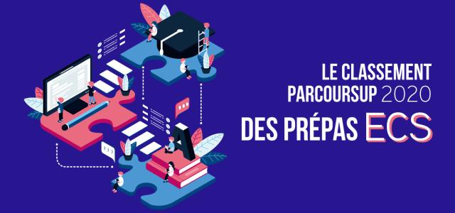 Le classement Parcoursup 2020 des prépas ECS !