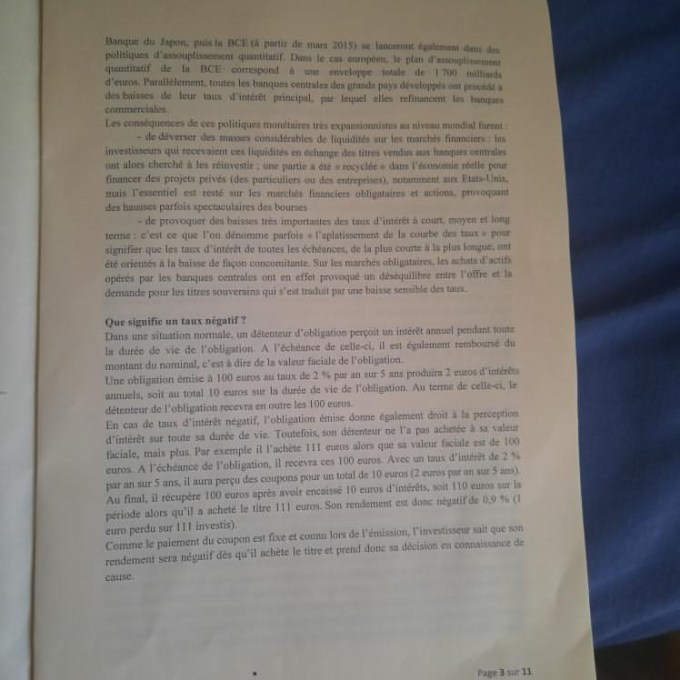 Eco droit ESSEC 2020