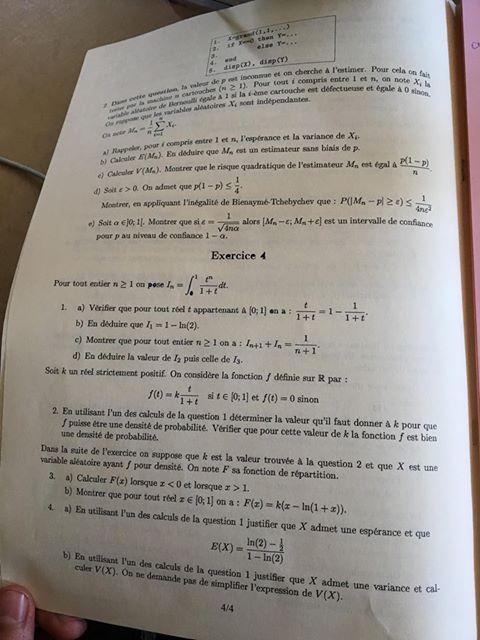 sujet maths BSB ECT 2020 4