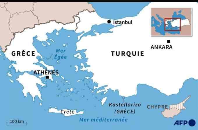 Tensions en Mer Méditerranée