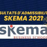 Résultats d'admissibilités SKEMA 2021
