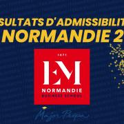 Résultats d'admissibilités EM Normandie 2021
