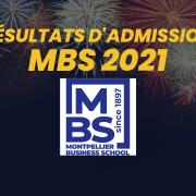 Résultats d'admission Montpellier BS 2021