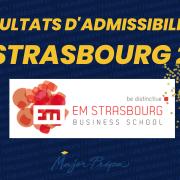 Résultats d'admissibilités EM Strasbourg 2021
