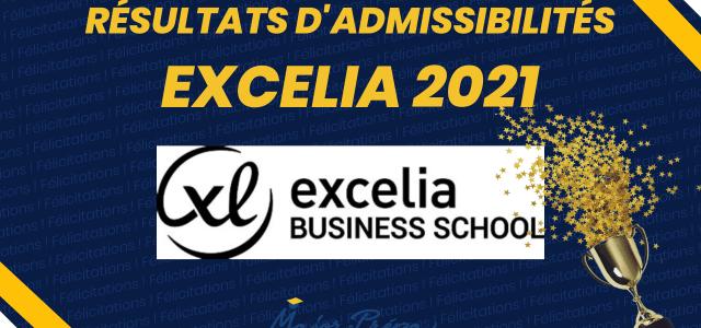 Résultats d'admissibilités EXCELIA BS 2021