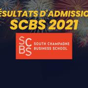 Résultats d'admission SCBS 2021