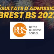Résultats d'admission Brest BS 2021