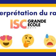 Interpréter son rang ISC Paris 2021