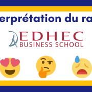 Interpréter son rang EDHEC 2021
