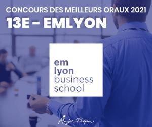 CONCOURS DES MEILLEURS ORAUX 2021 CLASSEMENT