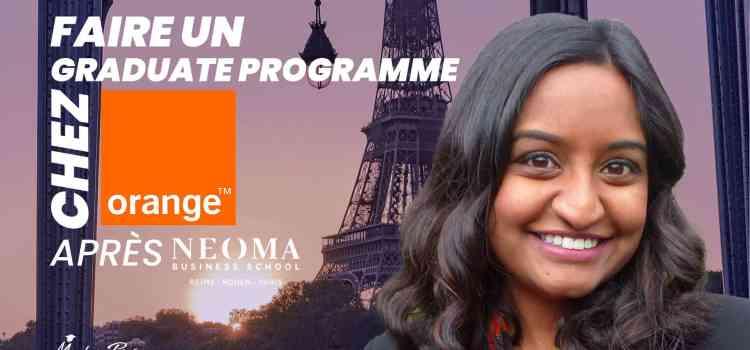 Faire un Graduate Programme chez Orange après NEOMA