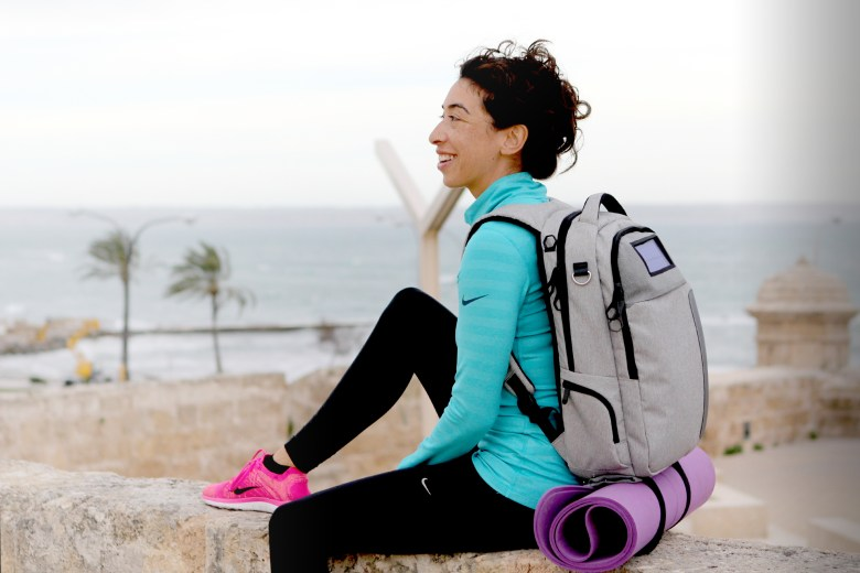 The bag has been designed to be part of an active, modern lifestyle