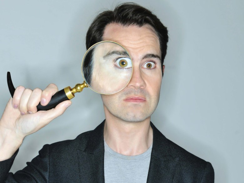 Jimmy Carr is on his way!