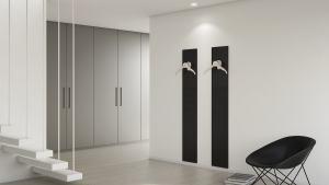 Hangers in a modern room Majordomo Wall Hangers