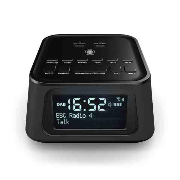 Majority Madingley Hall DAB Alarm Clock Radio