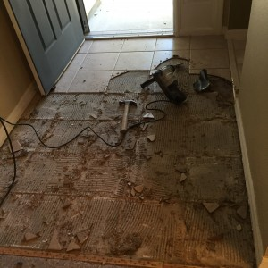 Replacing Tile