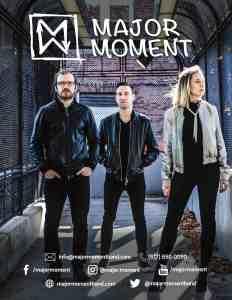 Major Moment's EPK