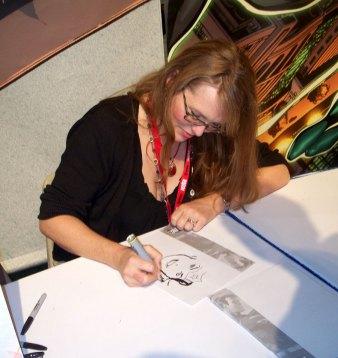 Nicola-Scott-Sketching-Wonder-Woman