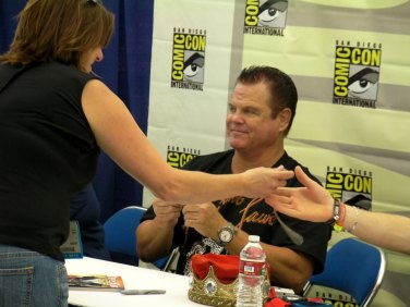"Jerry ""The King"" Lawler. I think Julian took this one for Matthew."